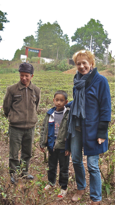 Jane Pettigrew in Vietnam in January 2011